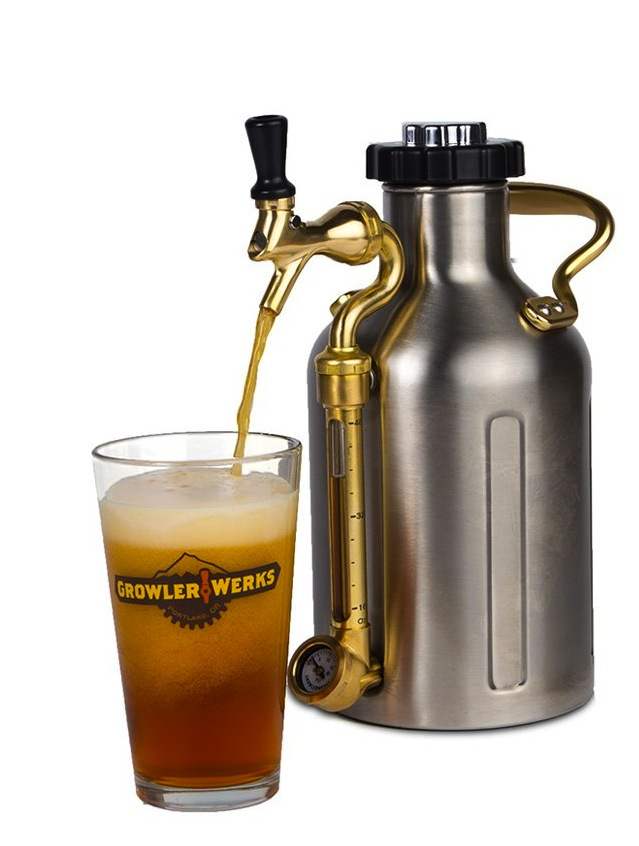 GrowlerWerks' uKeg 64 Stainless