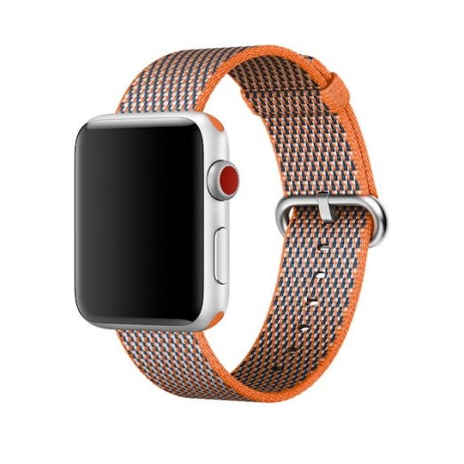 Apple Spicy Orange Check Woven Nylon