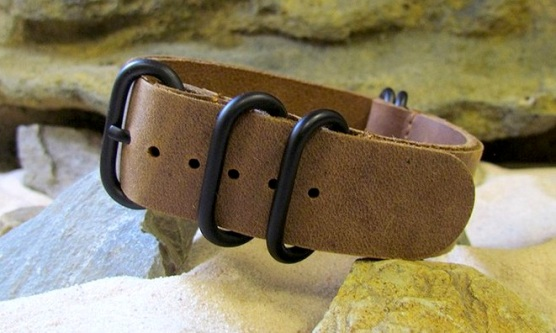 The Admiral Z5 NATO Strap with PVD Hardware