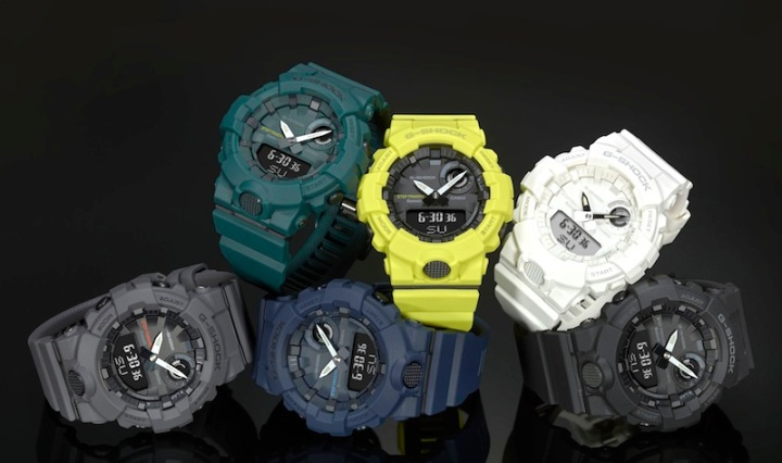 Casio G-SHOCK Training Timer Watches