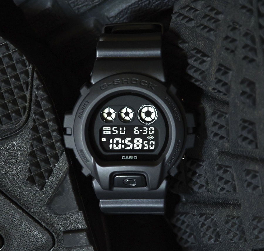 G-SHOCK Black Out Series watch