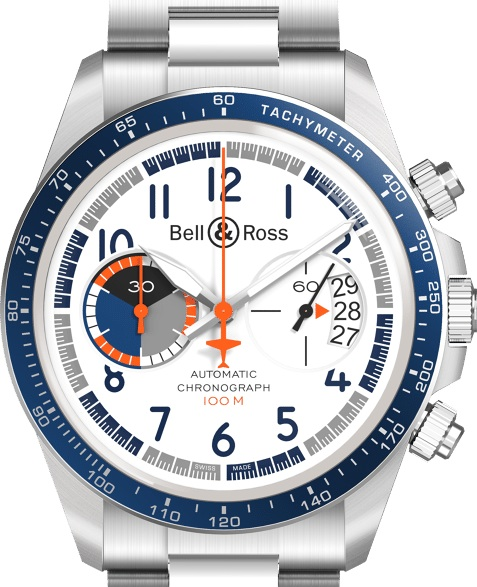 Bell & Ross V2-94 Racing Bird watch
