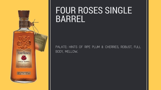 Four Roses Single Barrel Best Bourbon