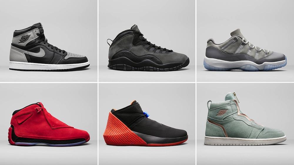 6 Great Jordan Brand Styles Coming Summer 2018