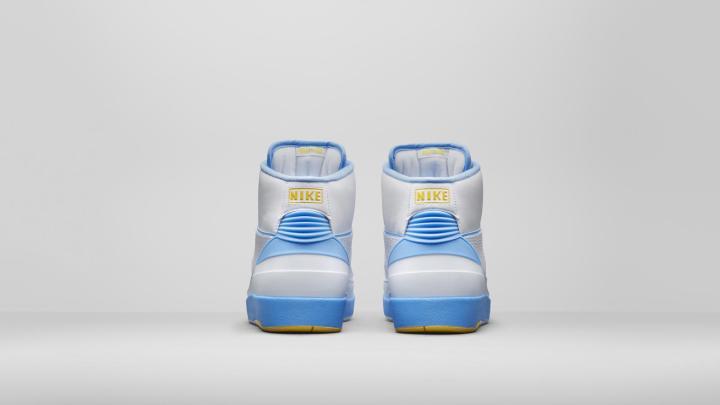 AIR JORDAN II MELO (Back of shoes)
