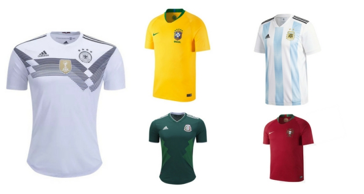 2018 World Cup Jerseys