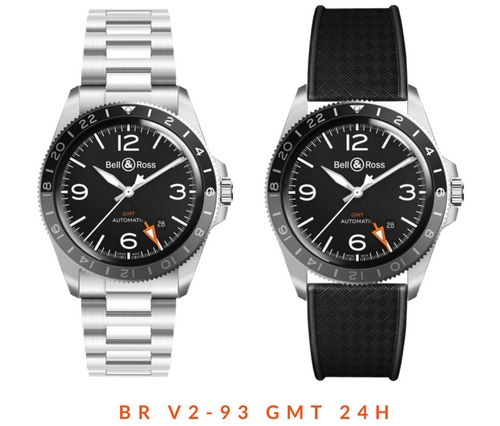 Bell & Ross's new BR V2-93 GMT 24H Watch