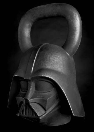 Star Wars Gifts for Men: Darth Vader kettlebell