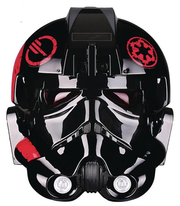 Star Wars Gifts for Men: Star Wars Inferno Squad Commander Iden Versio Helmet Accessory