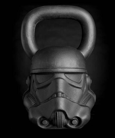 Star Wars Gifts for Men: Storm Trooper kettlebell