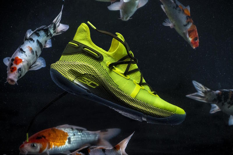 Curry 6 Coy Fish Colorway
