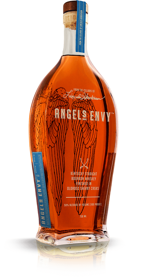 Angel's Envy Bourbon Whiskey Finished in Oloroso Sherry Casks
