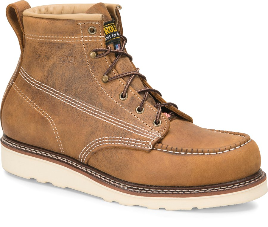 Carolina Shoe Company's AMP USA Steel Toe (Work boots made in the USA, American-made.)