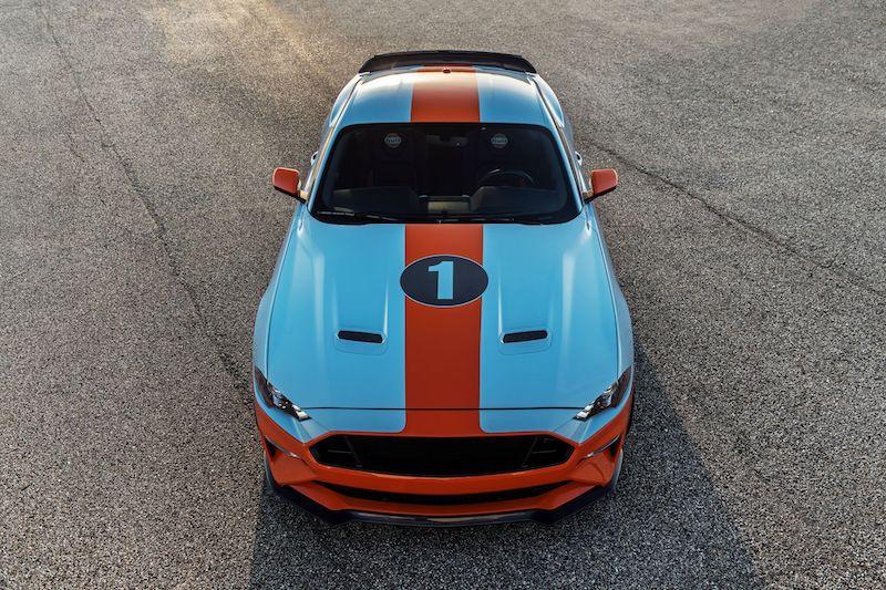 Gulf Heritage Mustang
