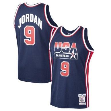 Michael Jordan USA Basketball 1992 Dream Team Jersey – Man And Gear