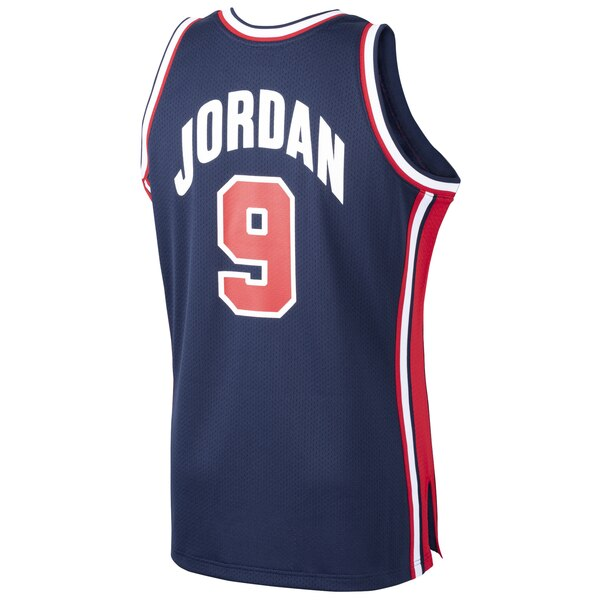 Michael Jordan USA Basketball 1992 Dream Team Jersey (Back)